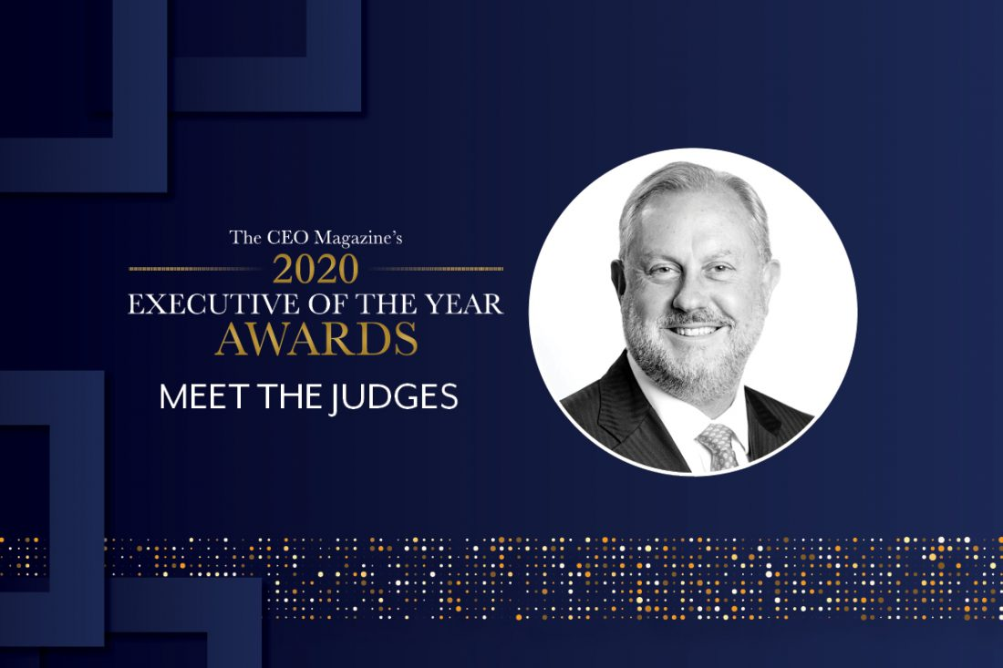 2020 Executive of the Year Awards judge David Hackett