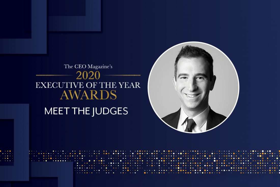 2020 Executive of the Year Awards judge Harry Theodore