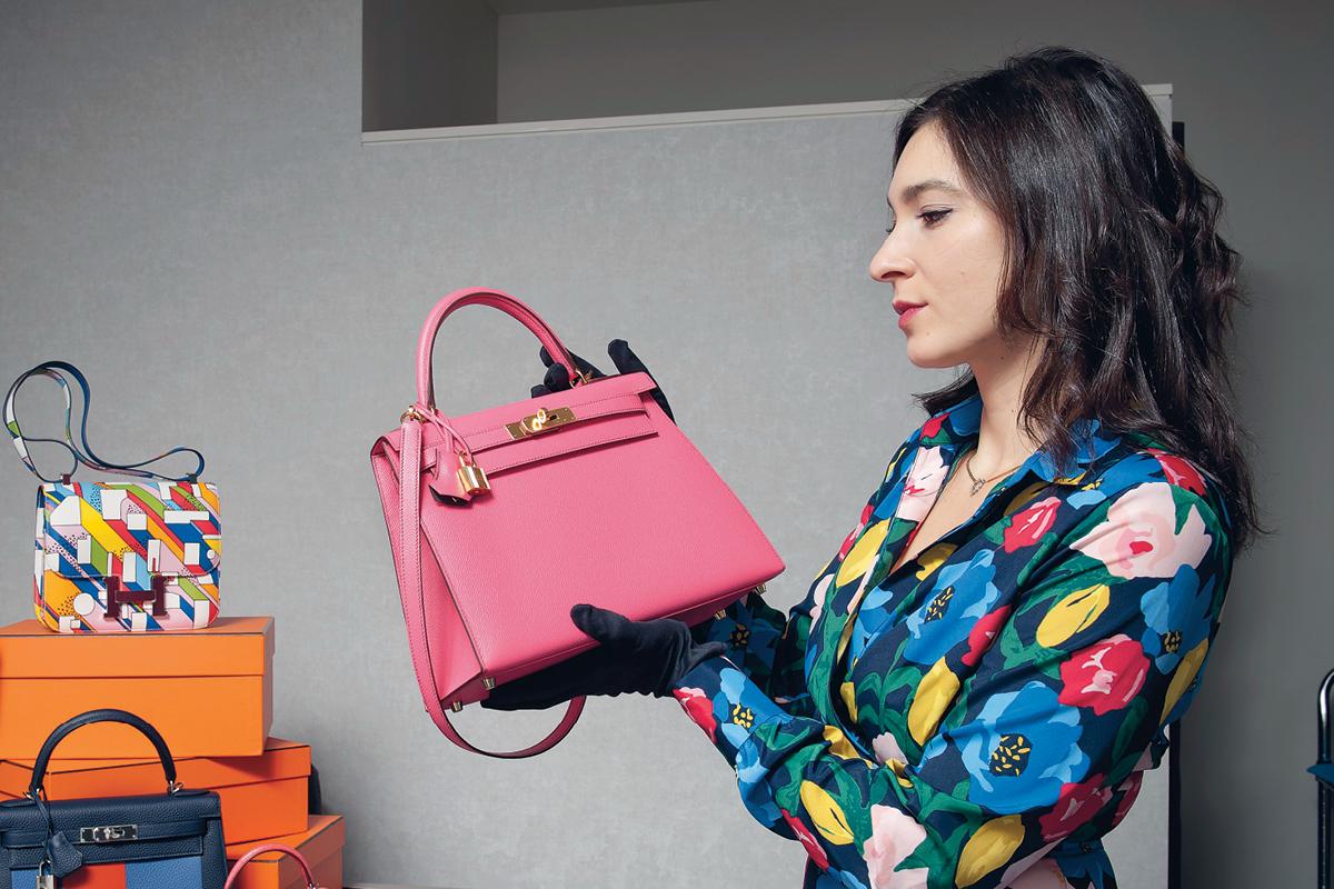 Investing in luxury handbags
