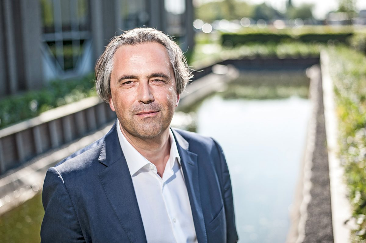 Jan Goossens, CEO of Aquafin