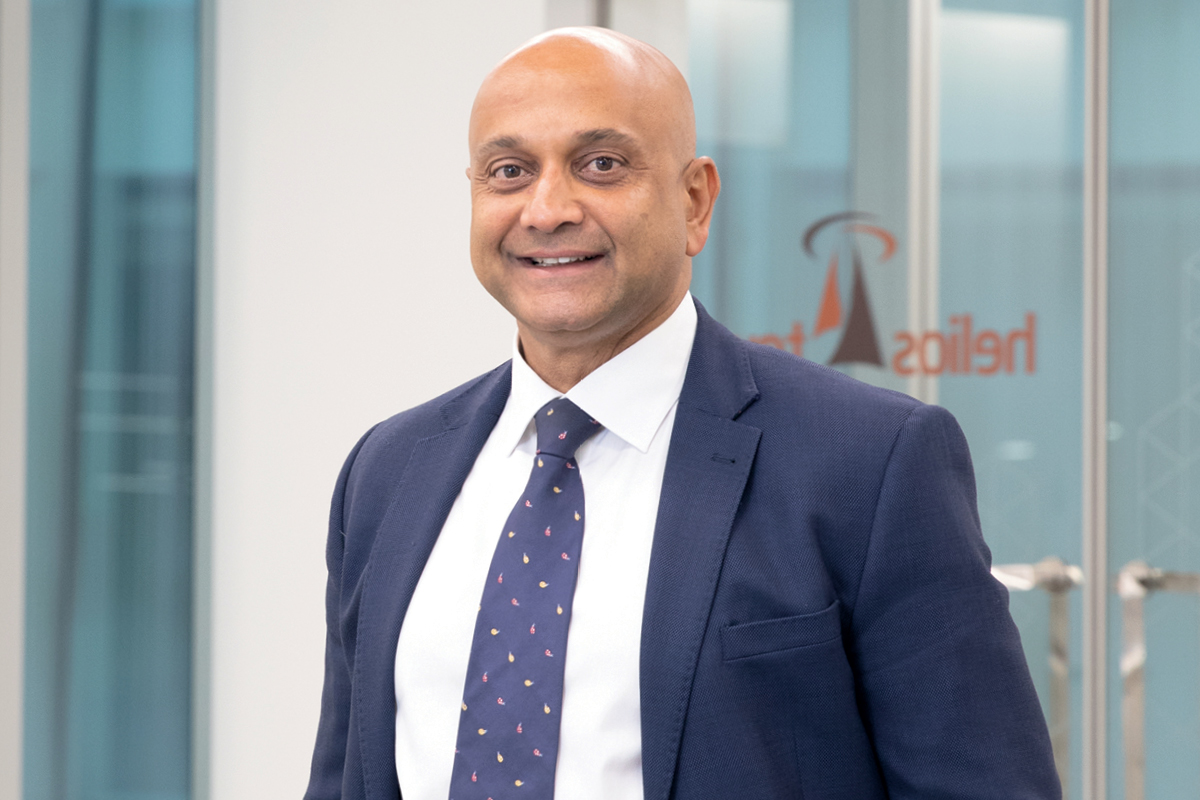 Kash Pandya, CEO of Helios Towers