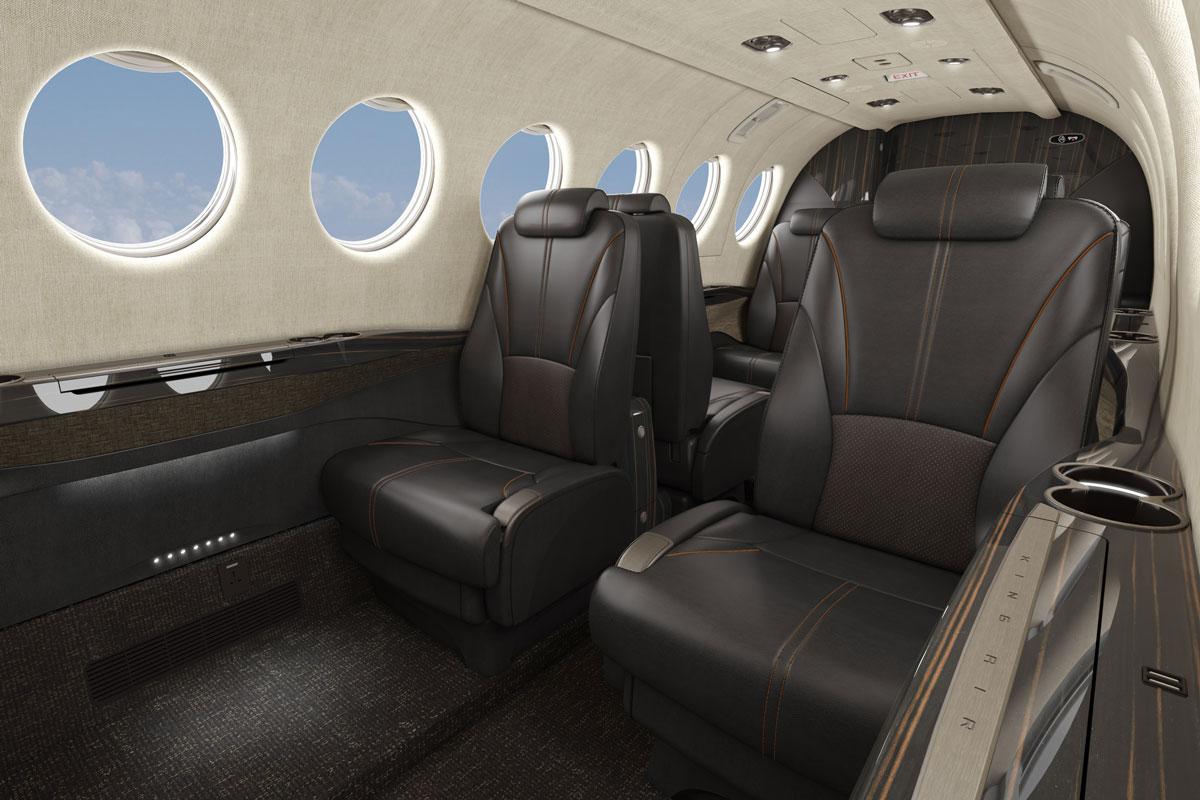 Textron Aviation King Air 360 Interior