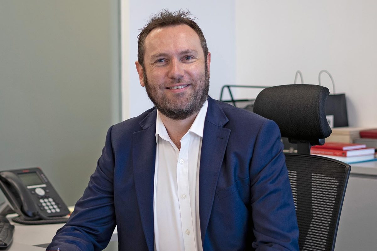 Simon Middlebrough, CEO of Singapore Aero Engine Services (SAESL)