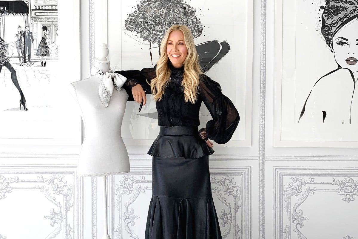 Megan Hess haute couture