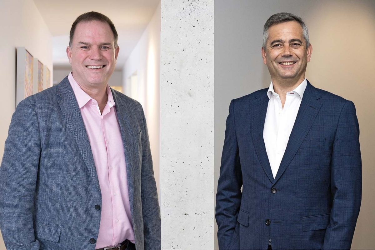 Marc Kenney and Matt Hoffman, Managing Director & Director New South Wales of Mettle