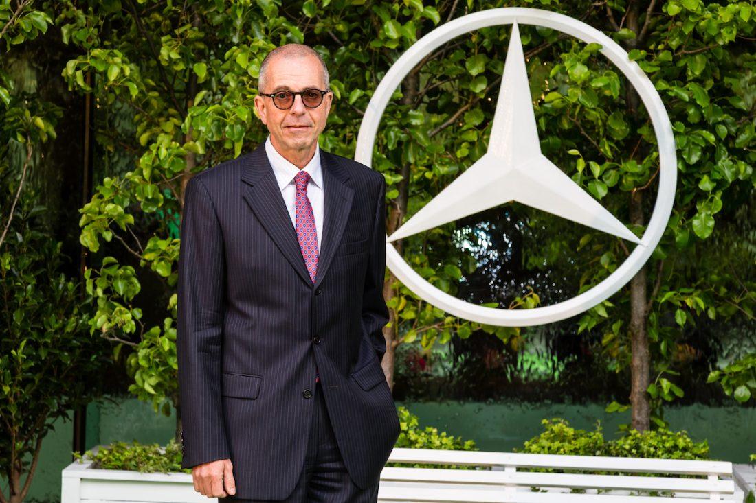Mercedes-Benz CEO Horst von Sanden