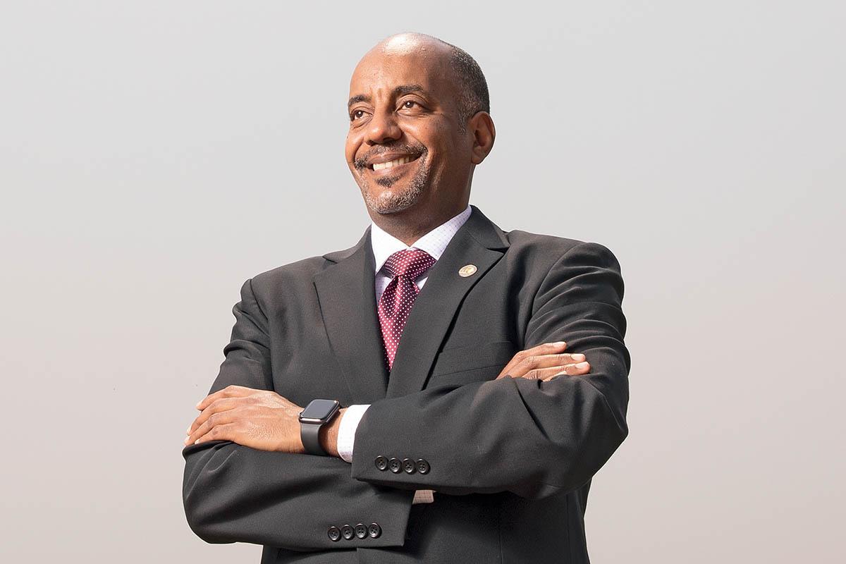 Admassu Tadesse, President and CEO of Trade and Development Bank