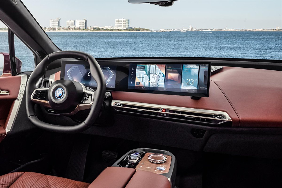 New BMW iX takes the iconic brand into a new sphere