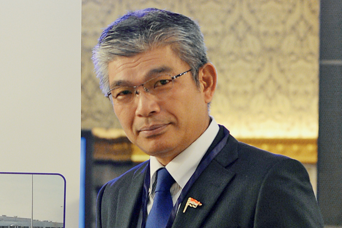 Tomoyoshi Harada, Managing Director of FCC Clutch India
