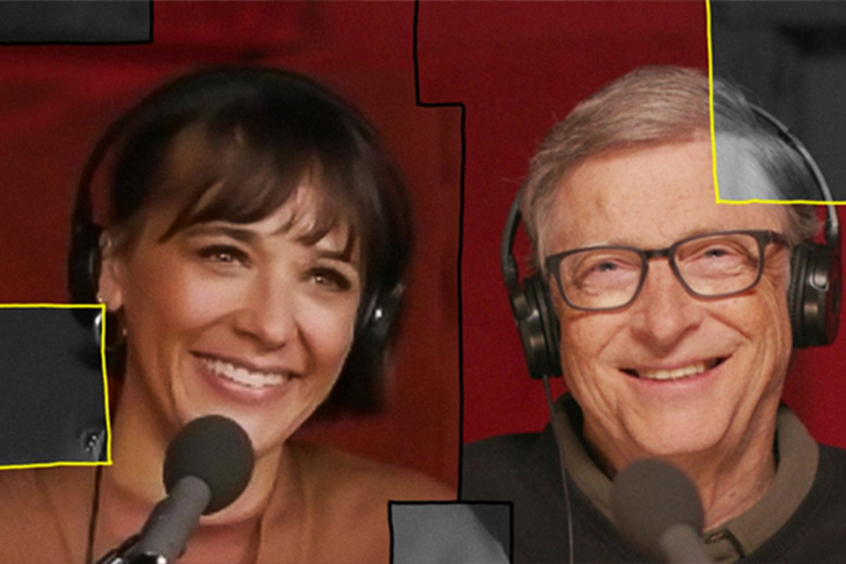 podvcasts, bill gates, rashida jones