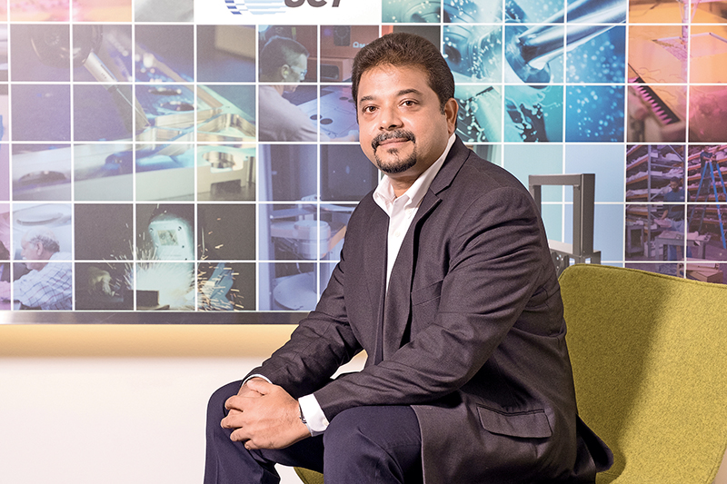 Thomas Joseph, Vice President Asia Operations of Ultra Clean Technology