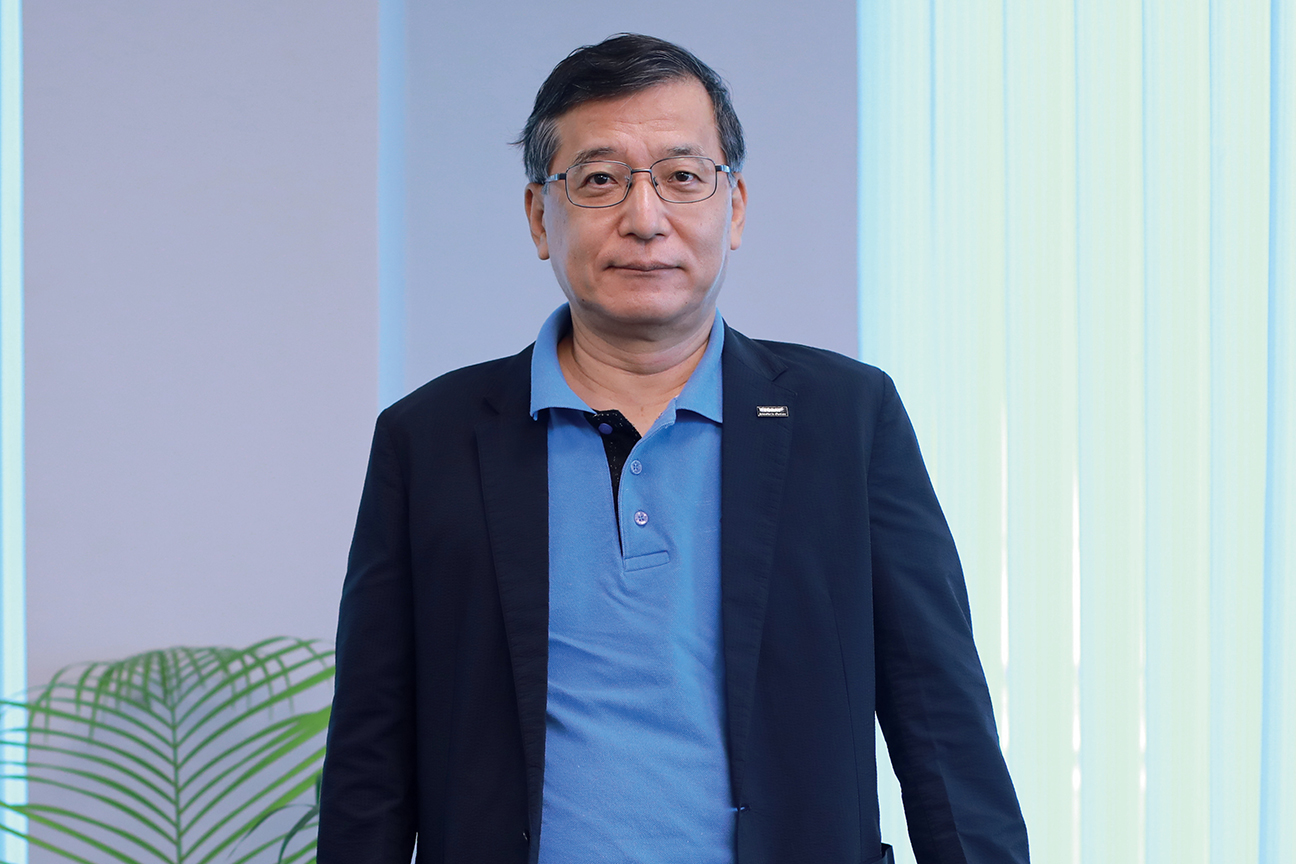 Shigekazu Suenaga, Chief Representative for India of Toray Industries