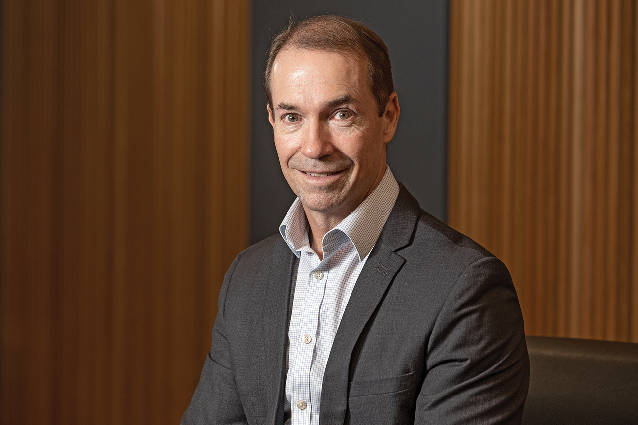 Aaron Newman, Group CEO of Queensland Country Bank