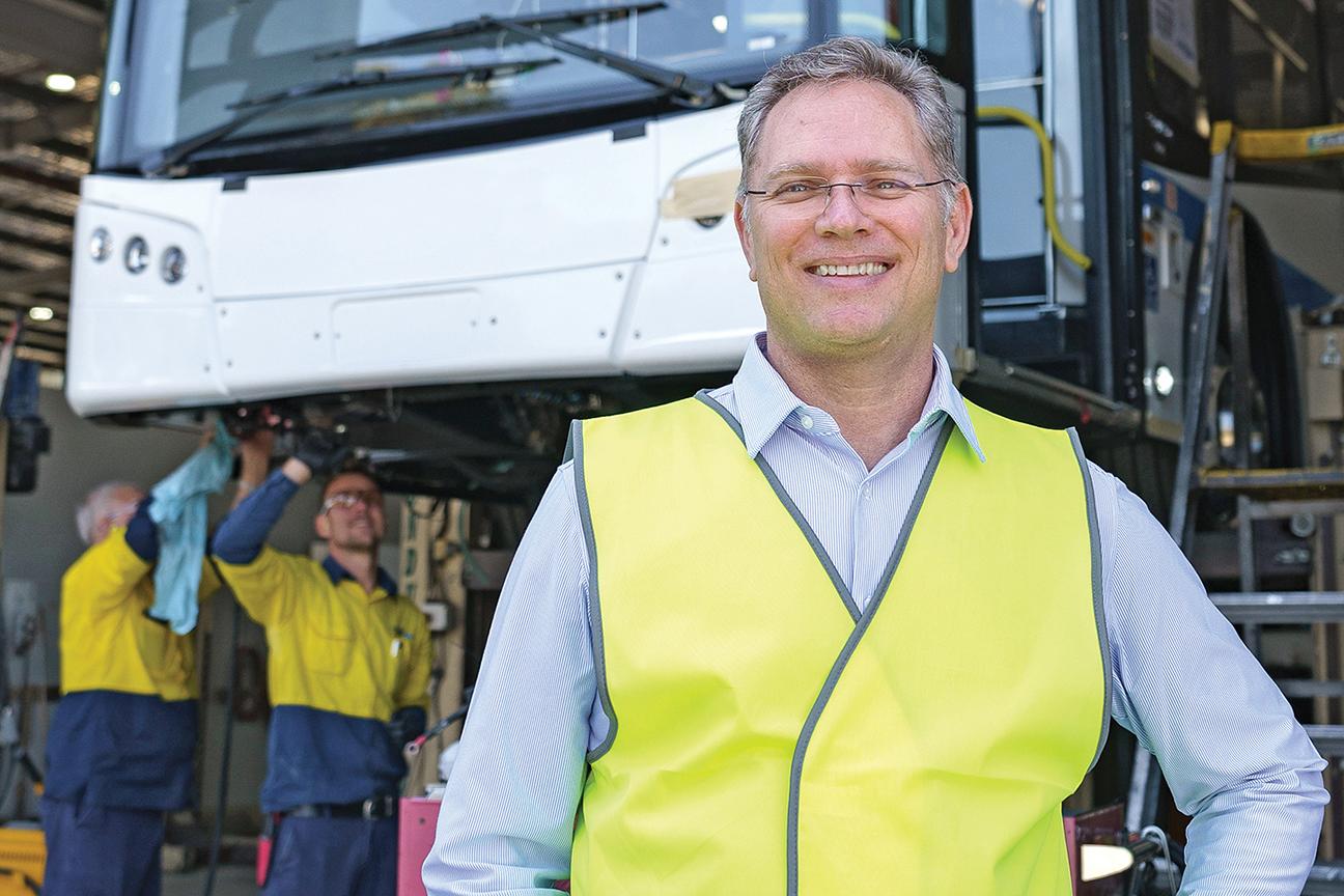 Thinus Steyn, CEO of Bustech