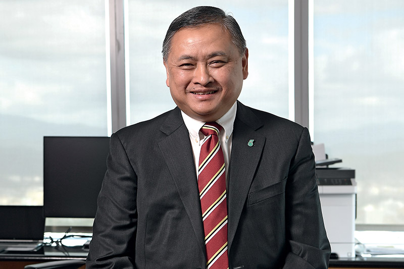 Adnan Zainol Abidin, Executive Vice President and CEO of PETRONAS Gas + New Energy