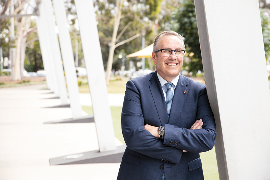 Warwick Winn, General Manager of Penrith City Council