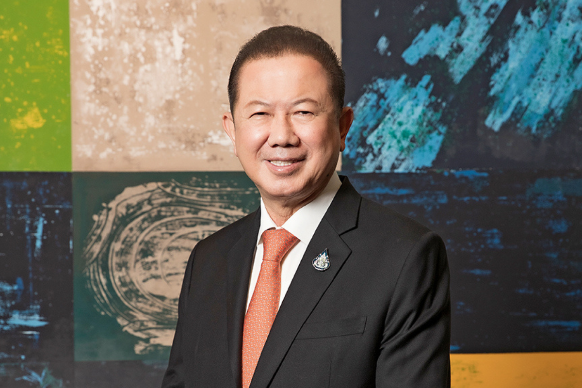 Sanan Angubolkul, Chair and President of Srithai Superware
