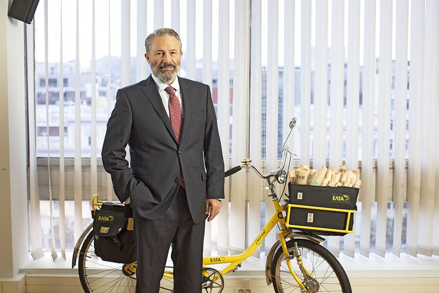 George Constantopoulos, CEO of Hellenic Post