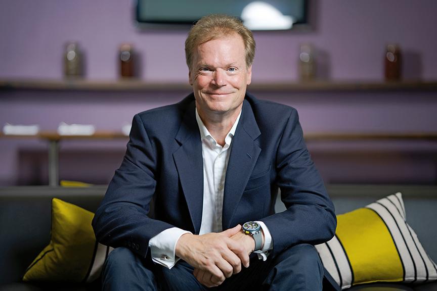 Richard Clapham, Group CEO of DUAL International