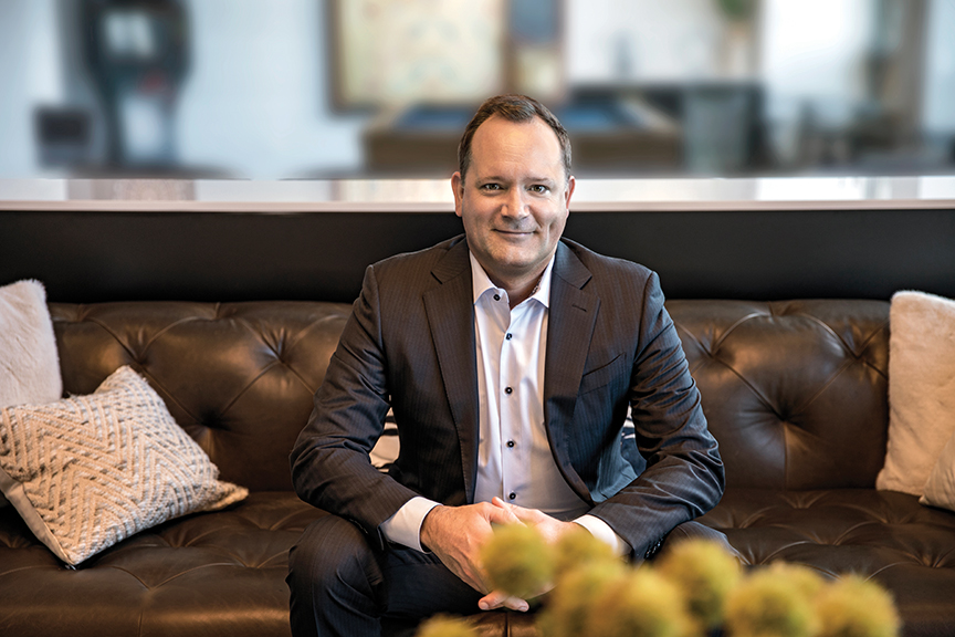 Carl-Martin Lindahl, CEO of SVP Worldwide
