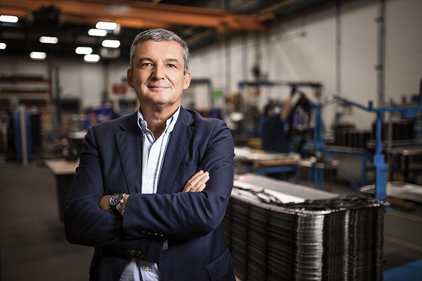 Jo Vanhoren, CEO of Alfa Laval US