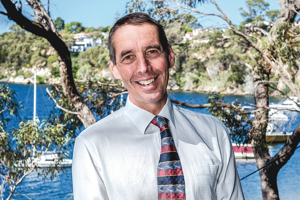 Alan Jones, Principal of Christ Church Grammar School