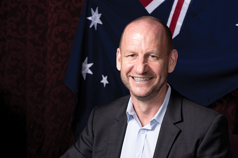 Matthew Pears, CEO of City of Mitcham