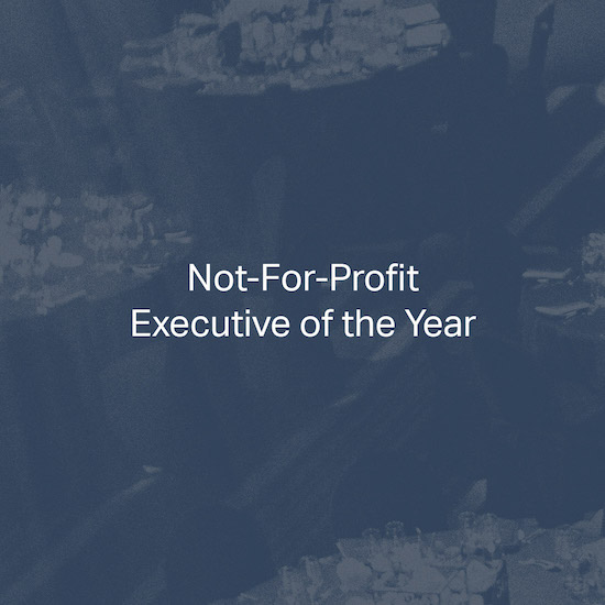 Not-For-Profit Executive of the Year
