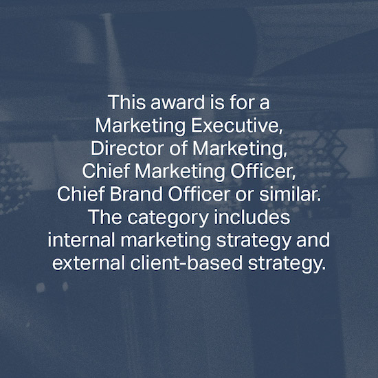 Marketing Executive of the Year