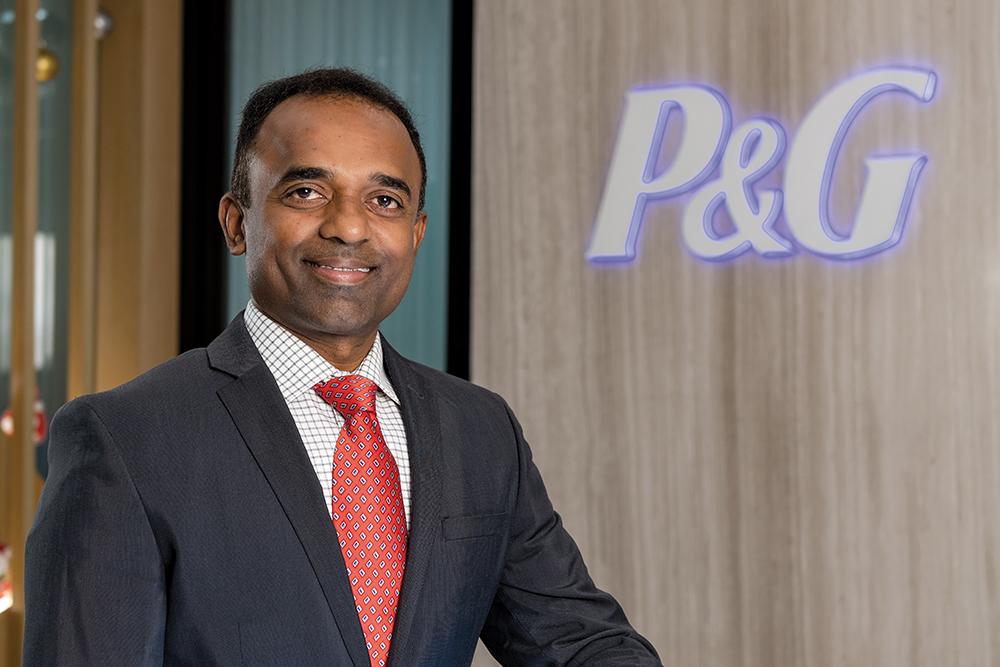 Sai Ramana Ponugoti, Country Manager and Vice President of Procter & Gamble