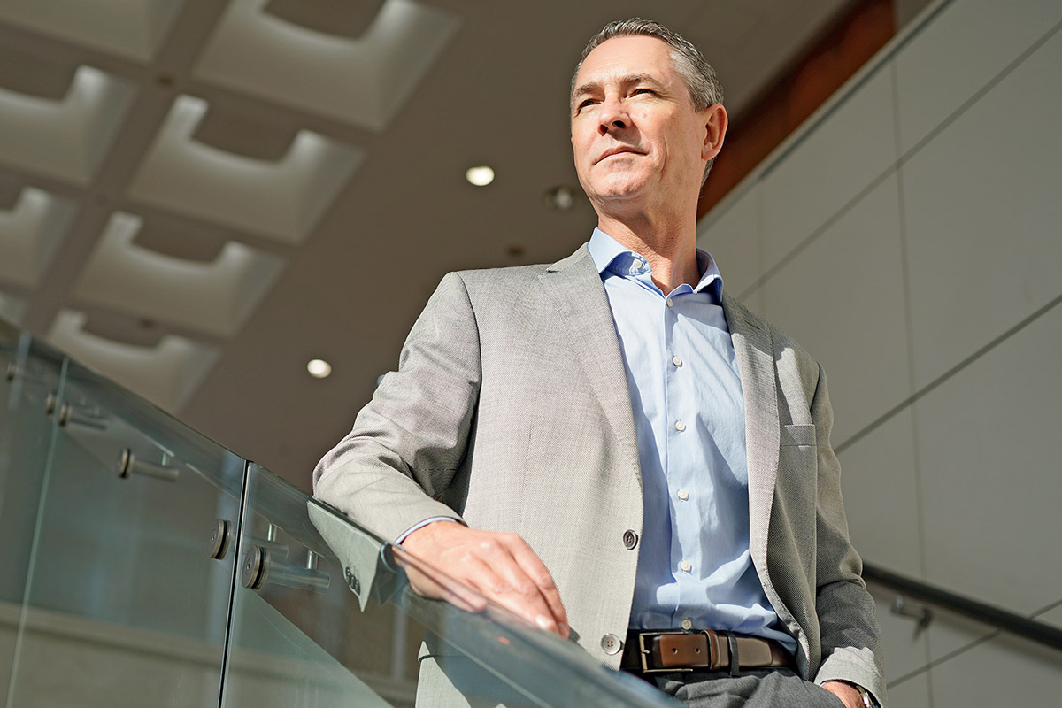 Peter Strydom, President of Amway Japan
