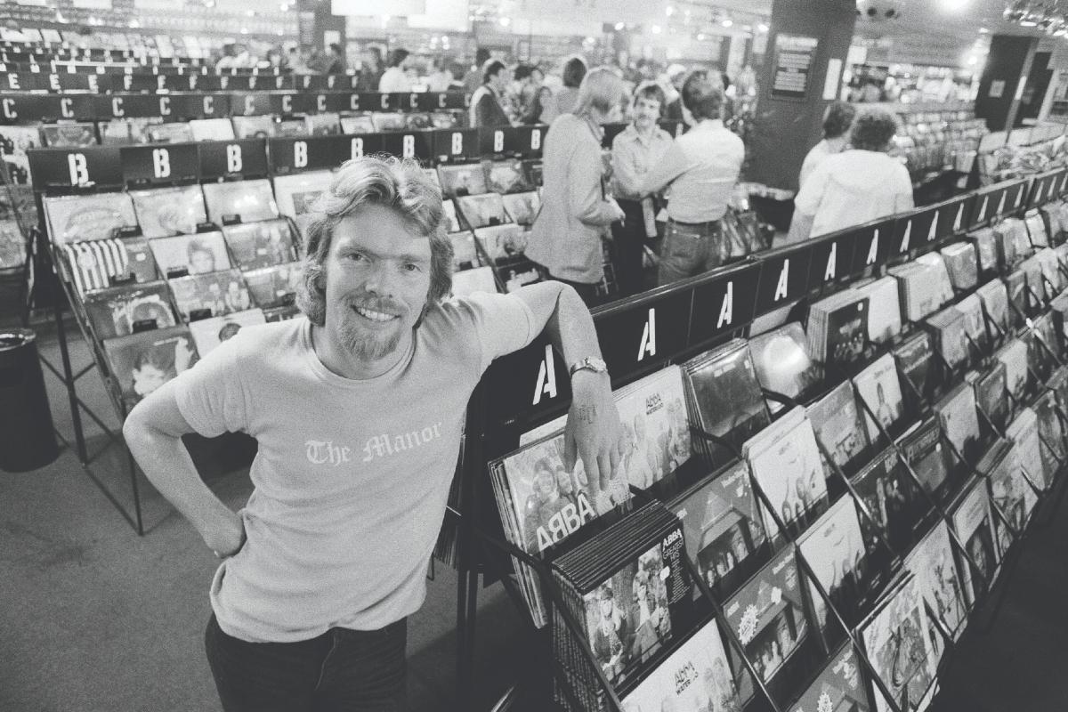 Sir Richard Branson celebrates 50 years of Virgin