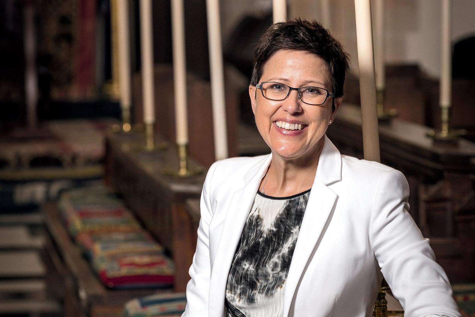 Anne Dunstan, Principal of Guildford Grammar School
