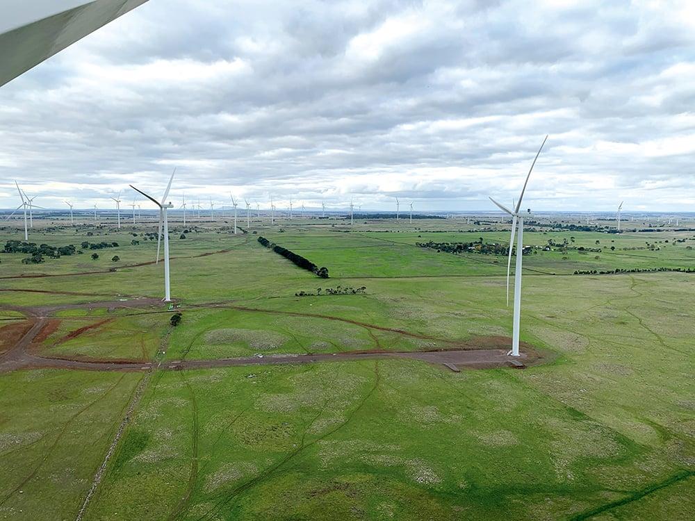 Dundonnell Wind Farm,<br /> Victoria, Australia