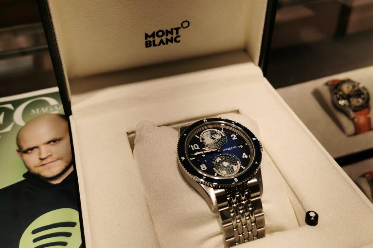Montblanc watch winner