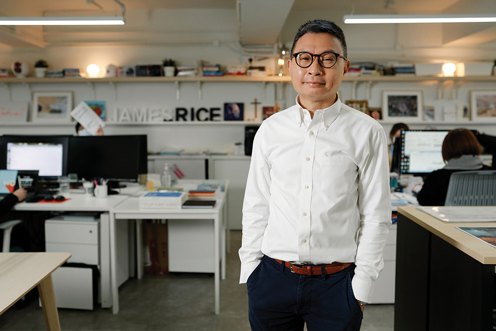 James Tsang, Co-Founder and Director of James Rice Contracting