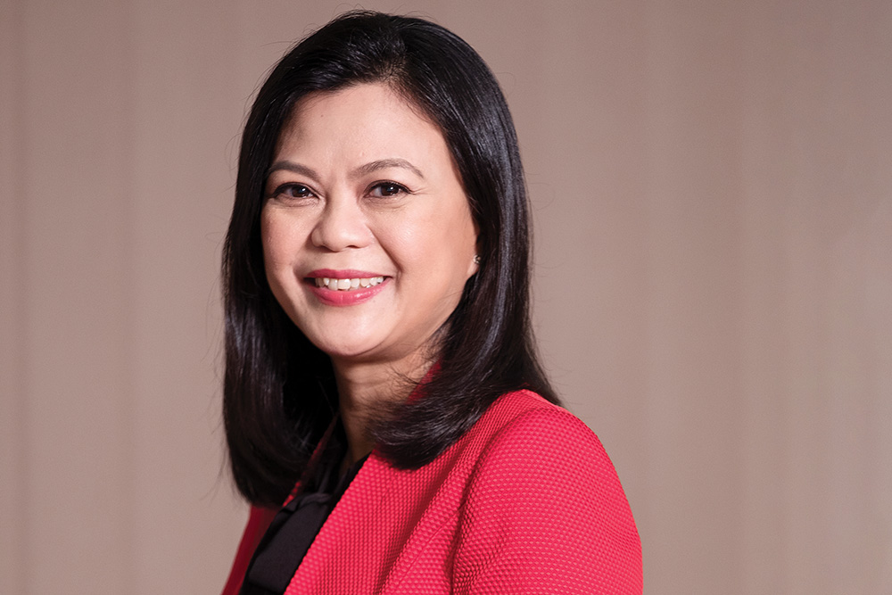 Gina Toh, CEO of ISS Singapore