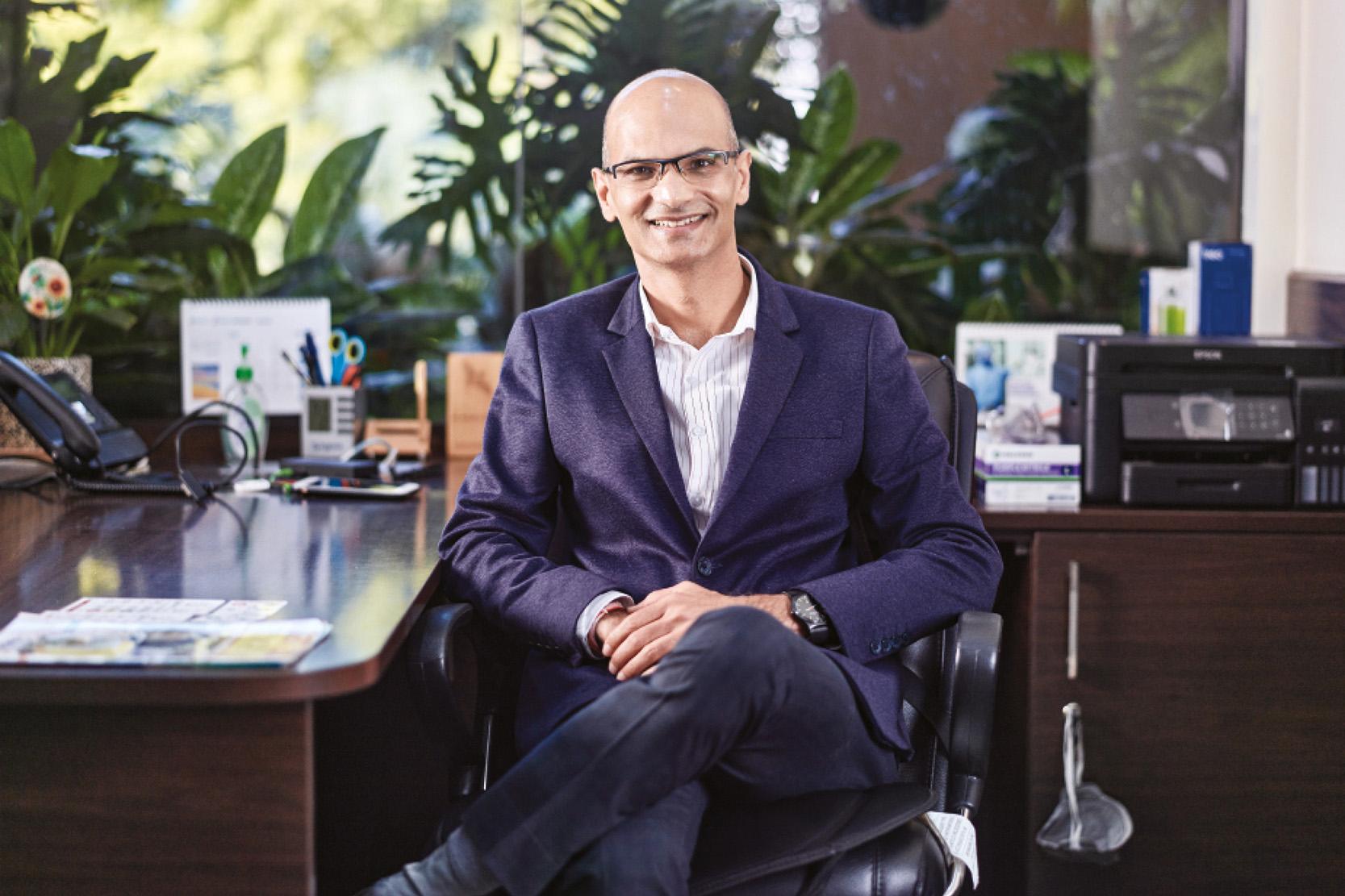 Mahesh Bhalgat, COO of Syngene
