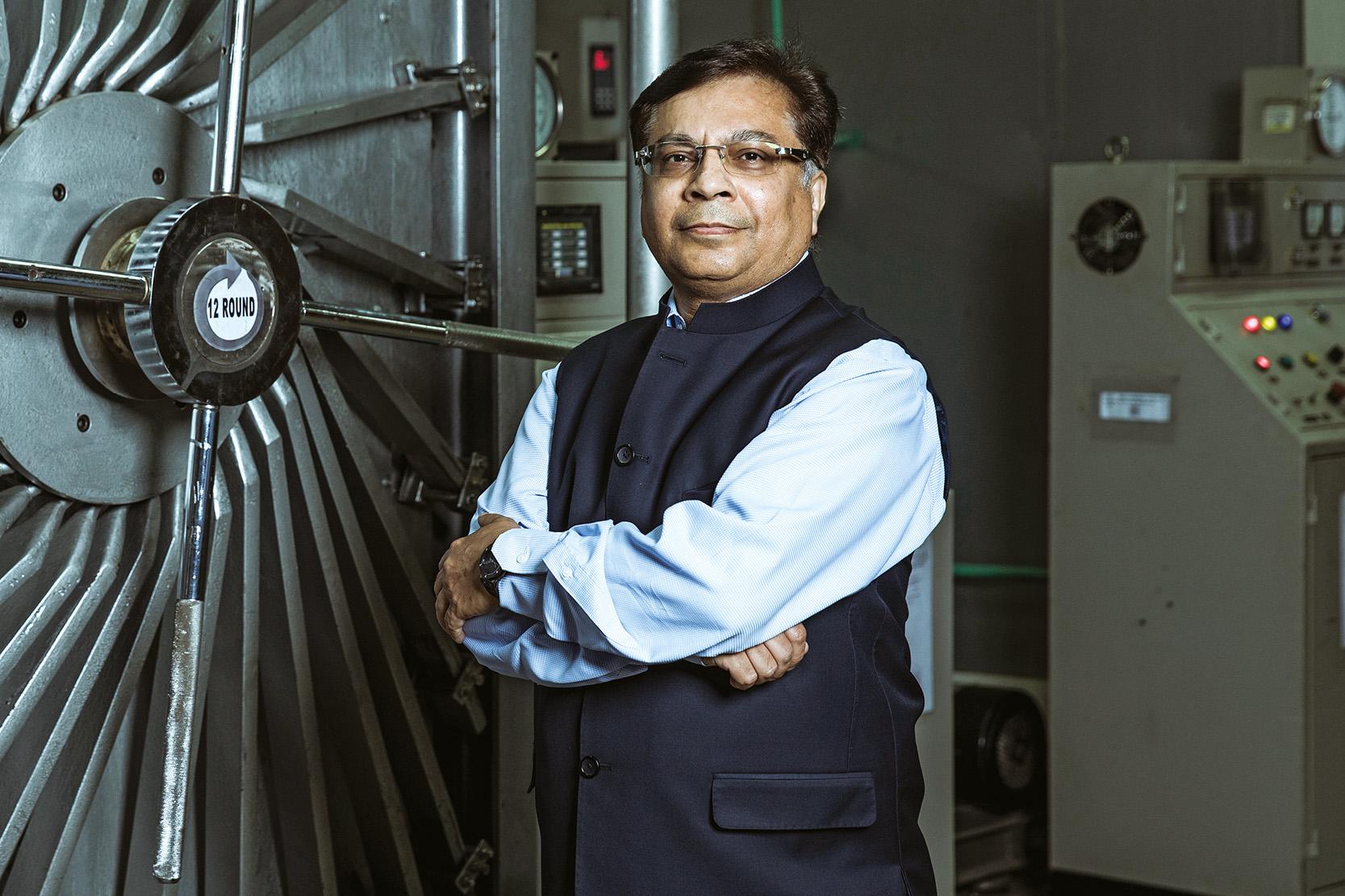 Rajiv Nath, Managing Director of Hindustan Syringes & Medical Devices