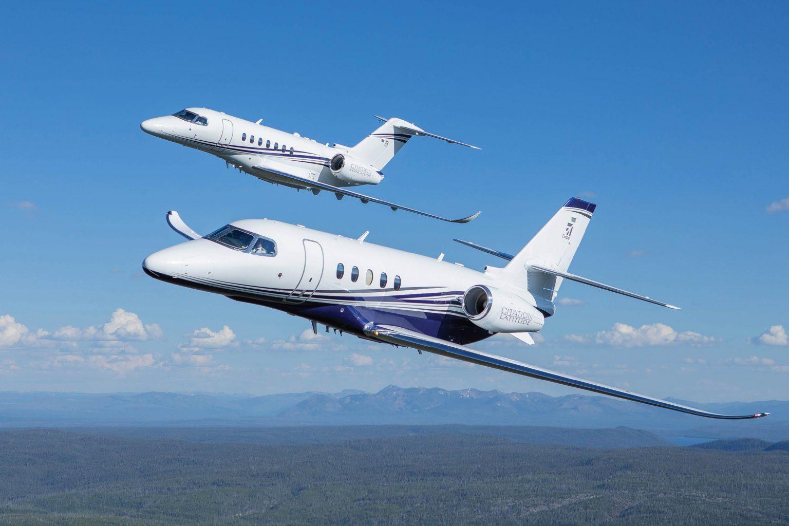 Textron Aviation airplanes