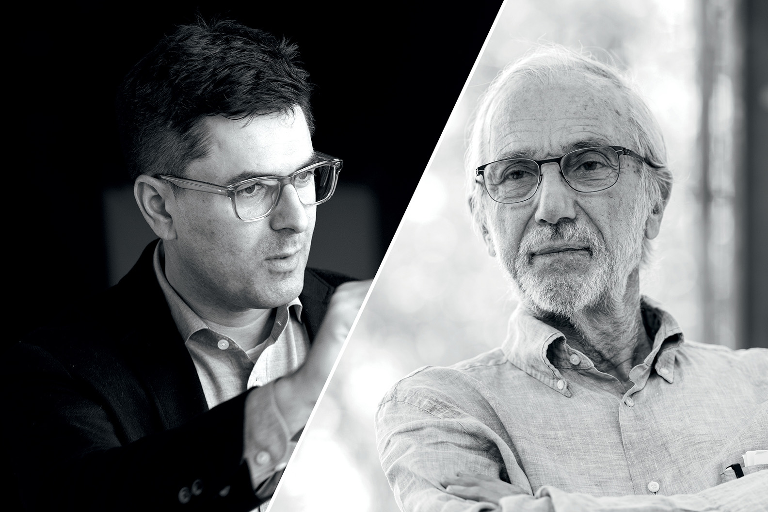 Daniel Goldberg and Renzo Piano, Founder & Director at State of Craft & Founding Partner & Chair at RPBW Architects