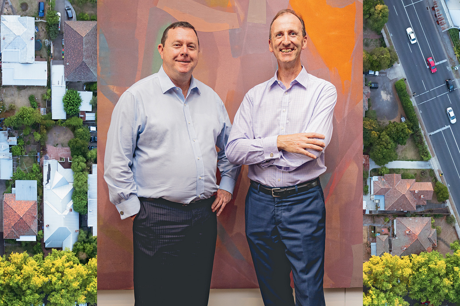 Tim Rabbitt, Managing Director and CEO & John Wise, Company Secretary and CFO of Acumentis Group