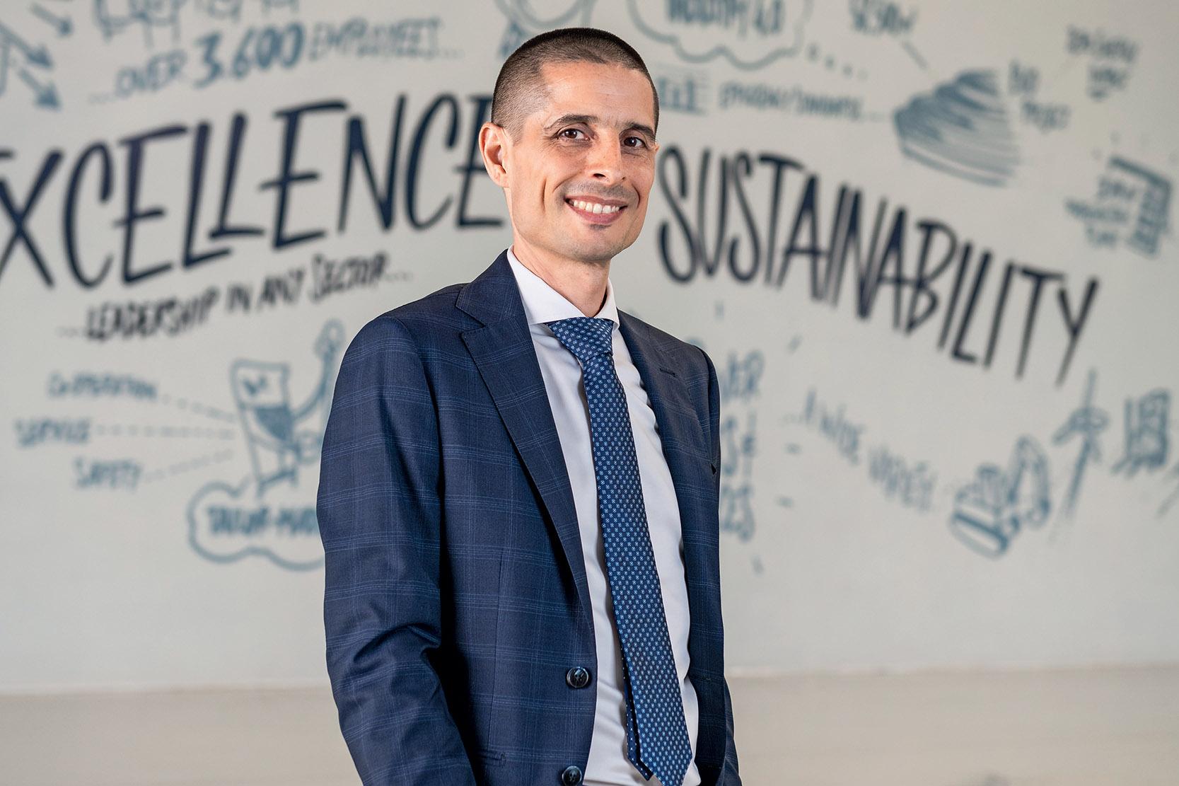 Andrea Genuini, General Manager of Bonfiglioli