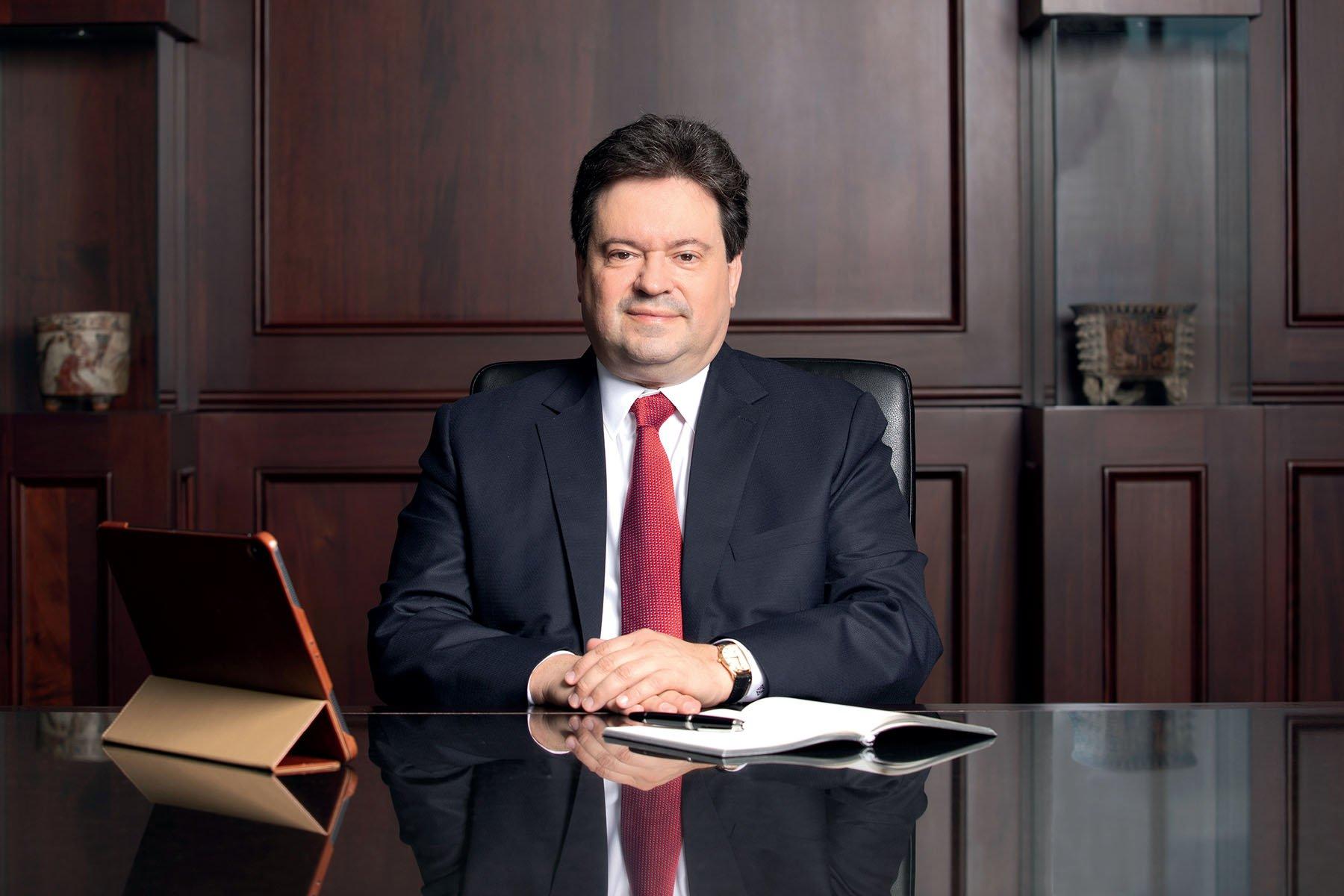 Guillermo Bueso, CEO of Banco Atlántida