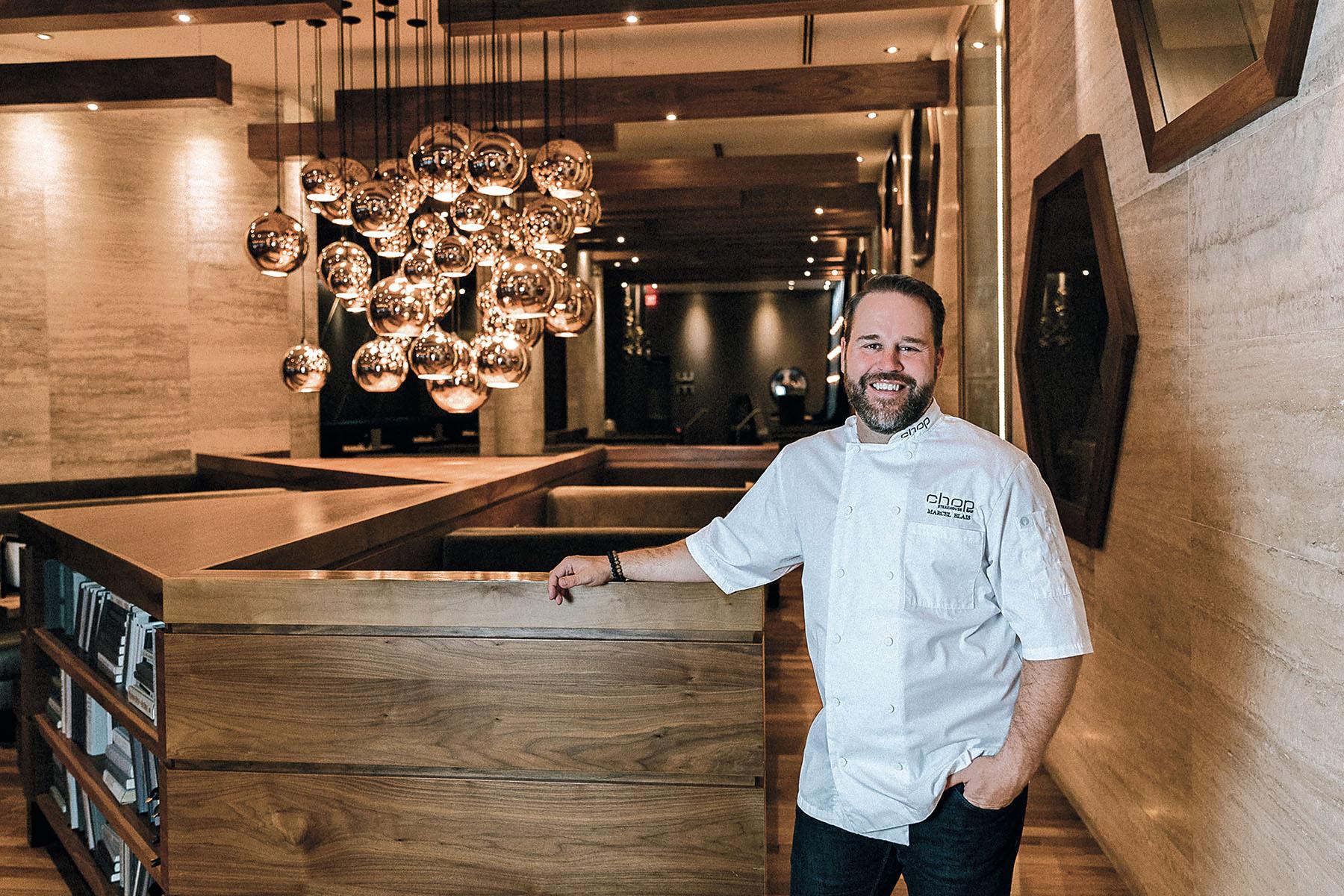 Marcel Blais, President of Chop Steakhouse & Bar