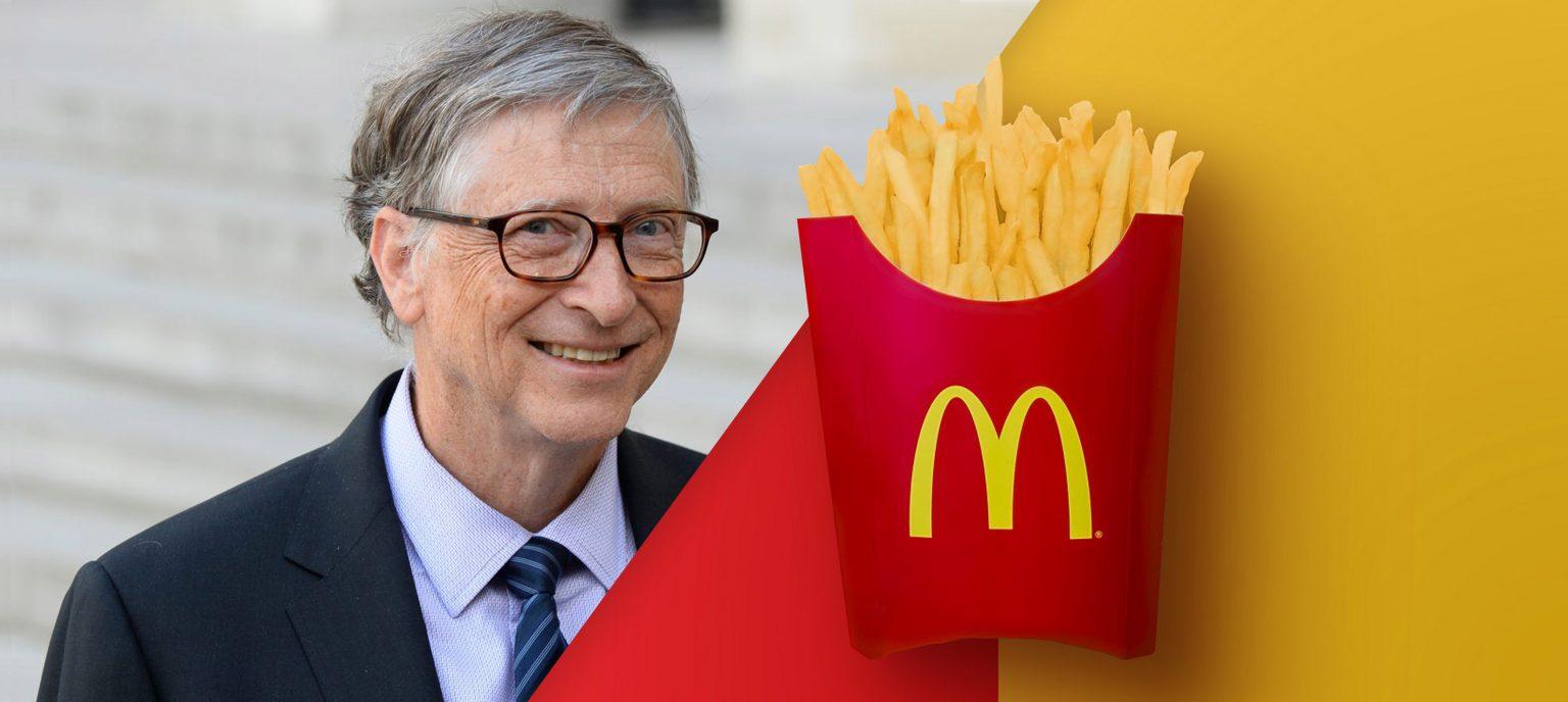 Bill Gates farm grows McDonald's potatoes