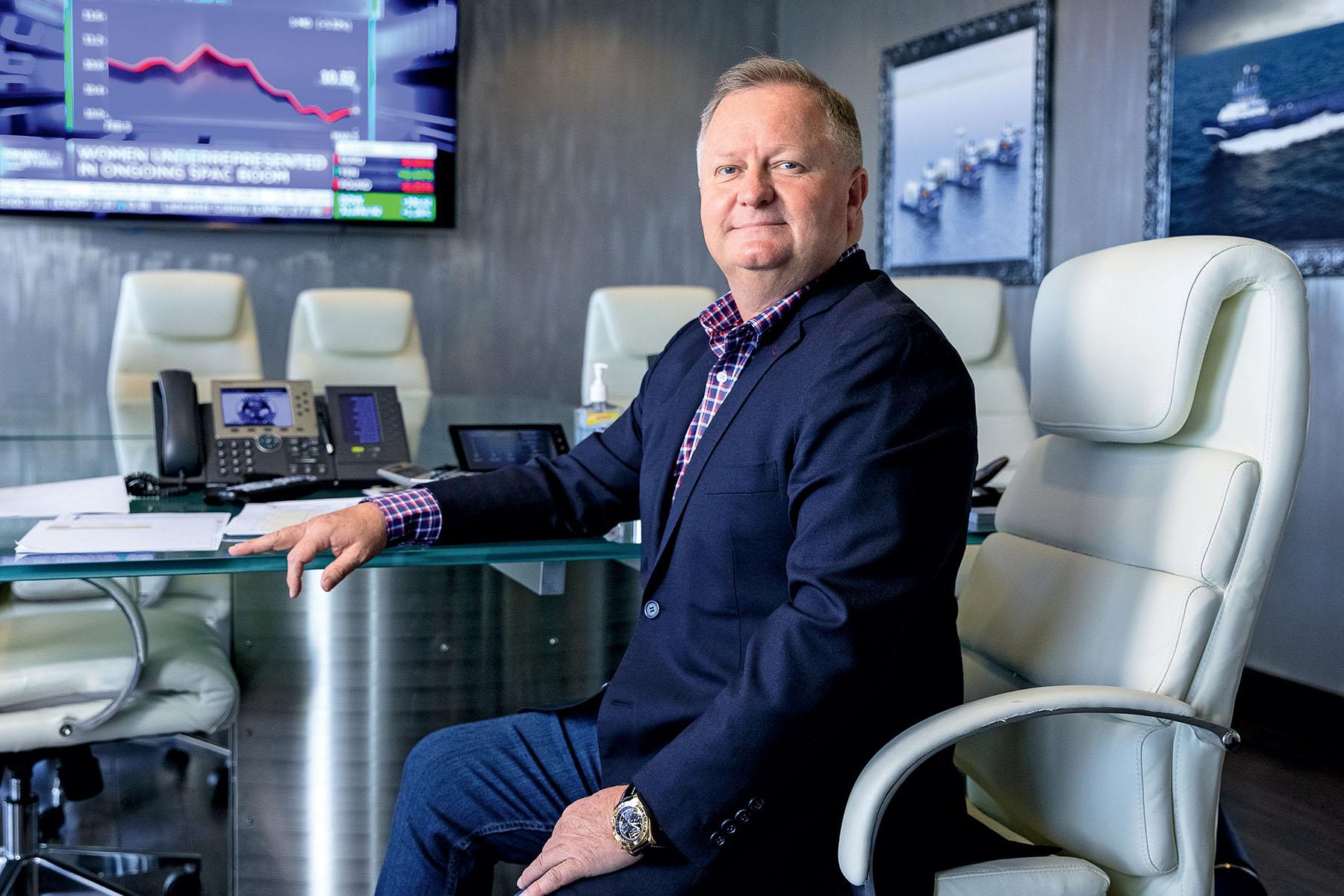 Shane Guidry, Chair and CEO of Harvey Gulf International Marine