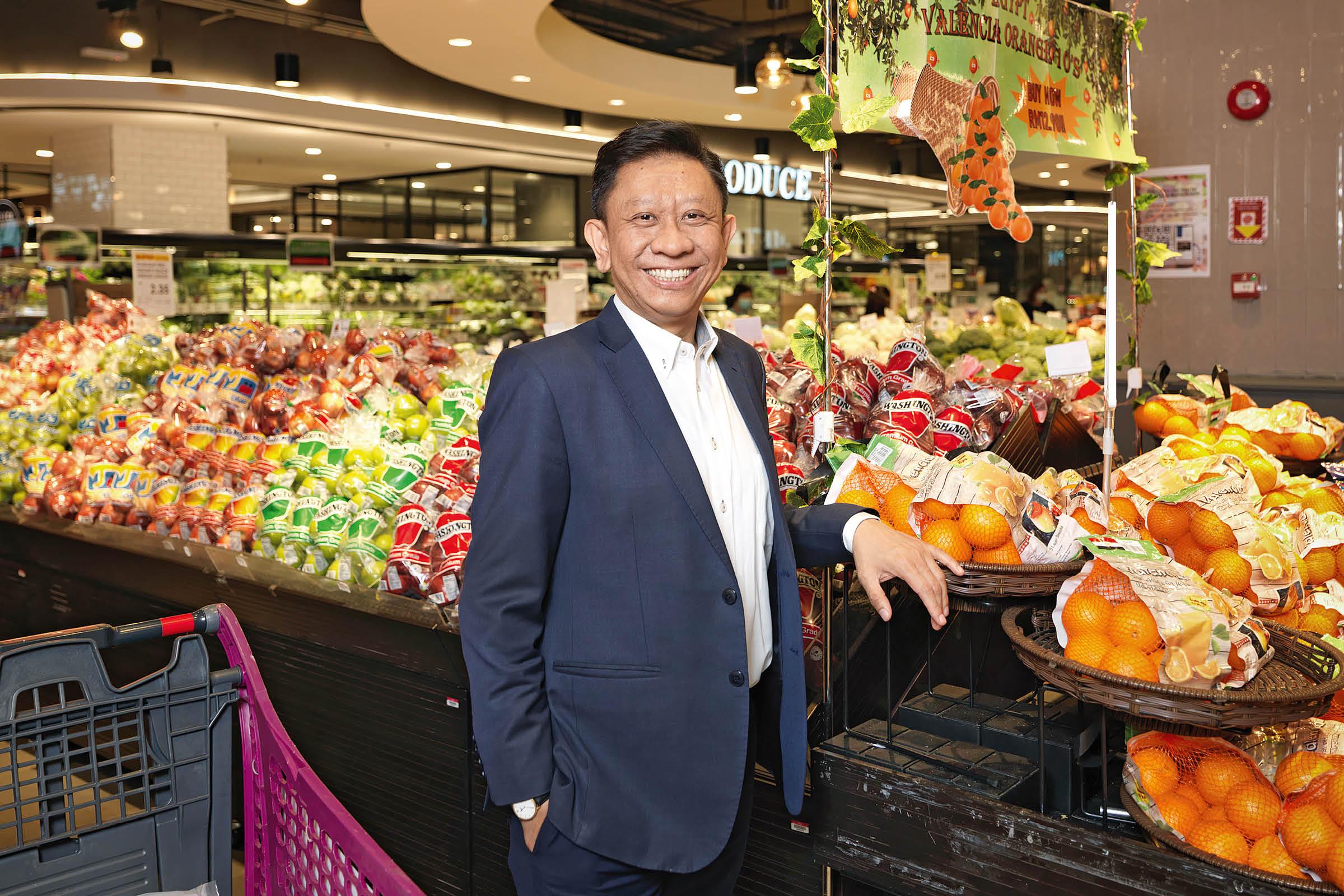 Shafie Shamsuddin, CEO of Aeon Malaysia