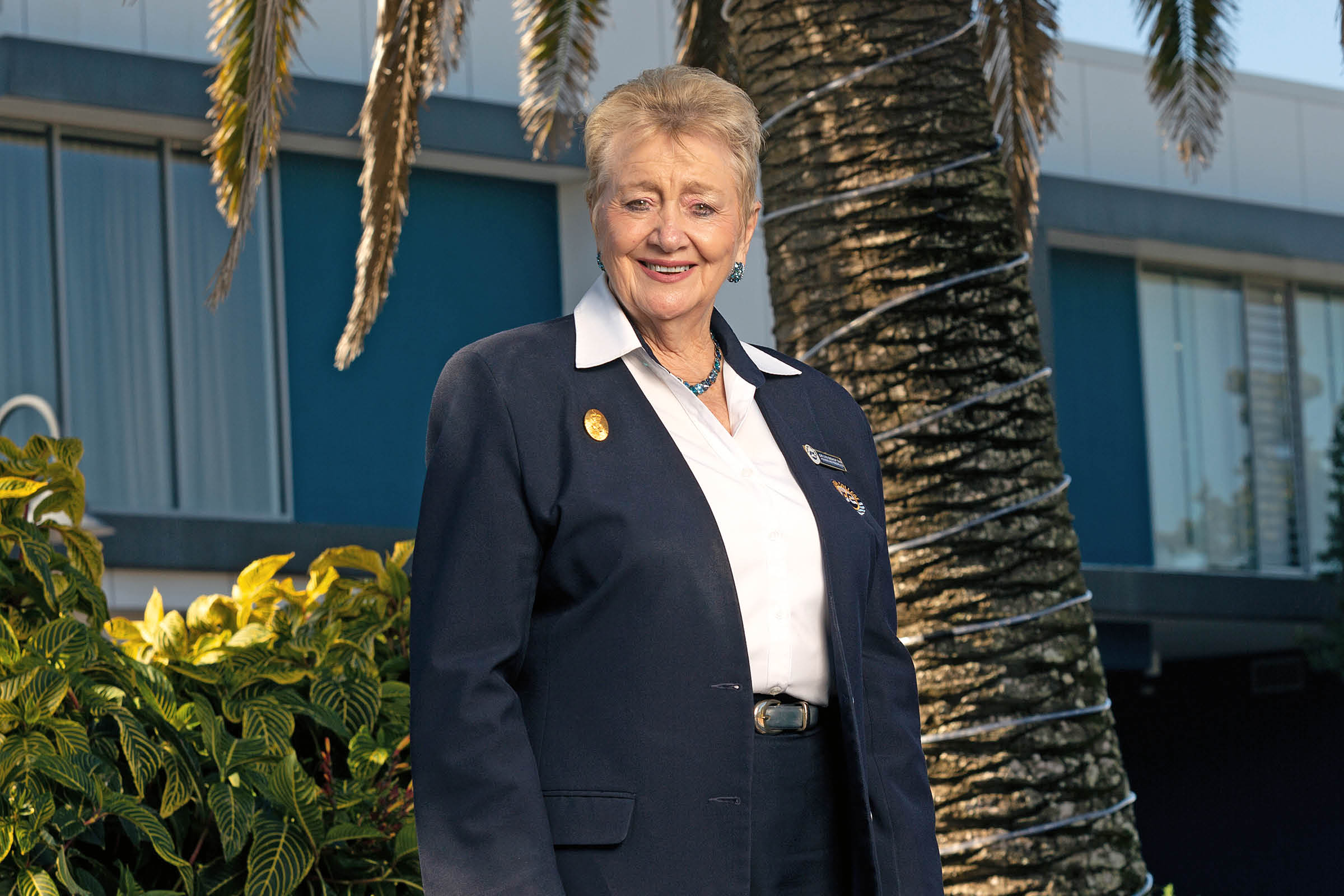 Lyn Bishop, Founder and Principal of Sheldon College