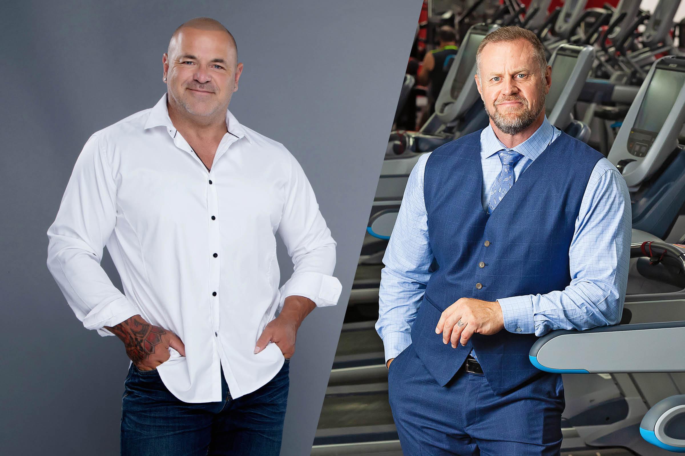 Jon Davie and Mike Nysten, Directors of World Gym Australia